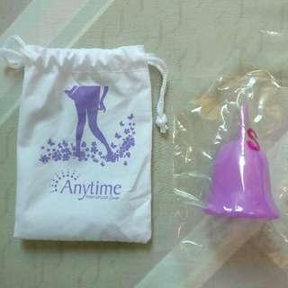 AUTHENTIC Anytime Menstrual Cup Size 1 - Purple