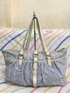 5d2ac8f7a9 Authentic Celine Paris 2way Bag -Tote  Hobo Bag