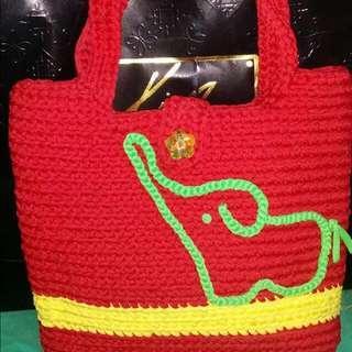 🚚 手工編織袋