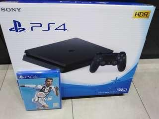 PS4 slim with Fifa 19
