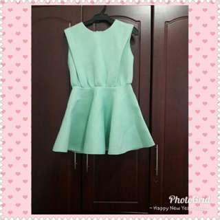 Pastel Mint Green Dress