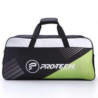 [CLEARANCE] Brand New Protech Edge Unlimited Black Green Rectangular Badminton Bag