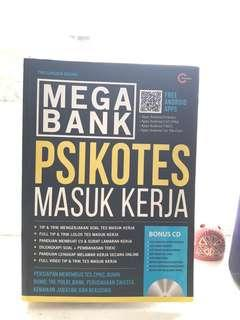 "Mega Bank ""Psikotes Masuk Kerja"""