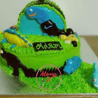 Custom Twin Cake