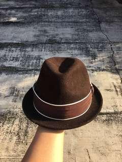 New York Hat & Co brown wool fedora