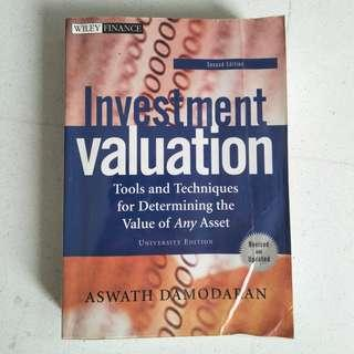 Investment Valuation (2nd Edition) by Aswath Damodaran
