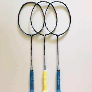 [NEW ARRIVALS] Brand New Protech Conquerer SX Series Limited Edition Signature Player Models Badminton Racket  [Lee Chun Hei / Fan Ka Yan / Chau Hoi Wah]