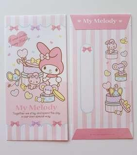 10% for Followers $5.90 Non Followers ❤JAPAN seasonal❤ SANRIO ORIGINAL Authentic Brand New My Melody Red packet Angbao Envelope