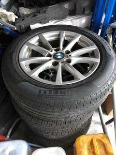 Bmw F30 Tyres Rims Carousell Singapore