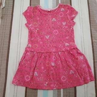 Mothercare Pink Cat print Dress
