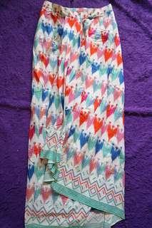 Preloved rok kebaya batik