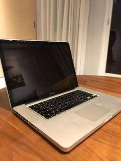 """MacBook Pro 15"""" 8G Ram 512MB"""
