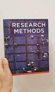 RESEARCH METHODS 9th edition Theresa L. WHITE/Donald H.Mcburney