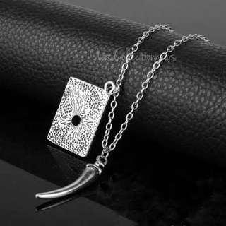 Harry Potter Lord Voldemort Horcrux Tom Riddle Diary Necklace Voldemort Horcruxe