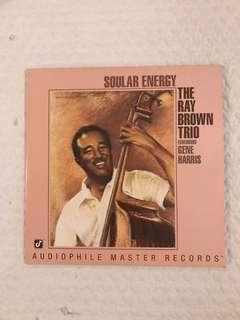 The Ray Brown Trio Soular Energy 2LP Limited Ed No 2993 Audiophile Vinyl Record