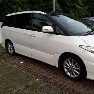 Estima 7 and 8 seaters CNY Rental