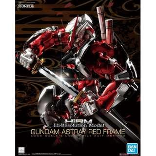 HRM Astray Red Frame