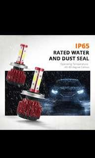 Ultra bright 4 sided led Hb3 Hb4 headlight fog light bulb