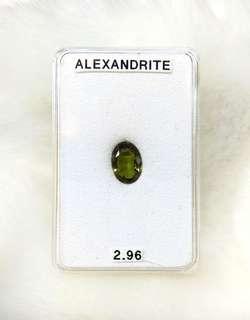 Natural Alexandrite Gemstone (2.96CT)