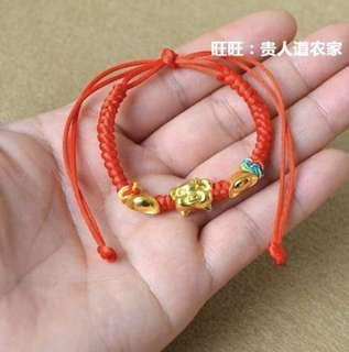 Year of the pig bracelet