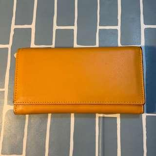 Mustard Yellow Wallet (Spacious w/ card slots)