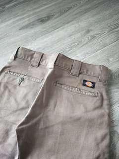 Dickie's, 28*30,側邊沒口袋,九分褲