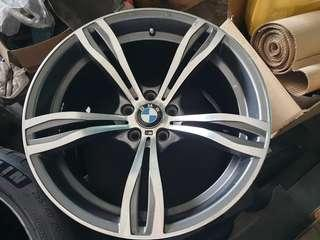 """Bmw 20"""" staggered rims"""