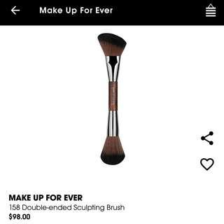 Make Up For Ever dual double ended sculpting brush