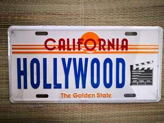 Hollywood Plate (1 pc. only)