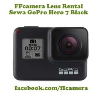 Sewa GoPro Hero, Camera Lens Rental