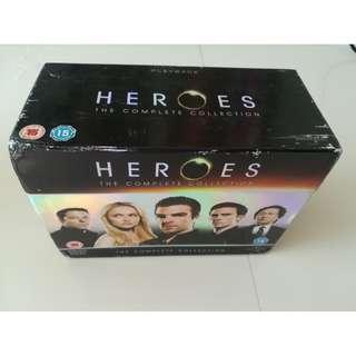 Heroes complete series - season 1-4