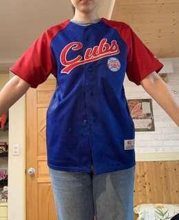 🚚 小熊隊 cubs 外套 球衣 加油衣 大聯盟 棒球 美國職棒