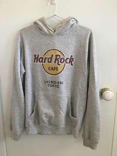 Hard Rock Cafe Japan grey hoodie