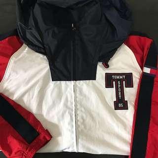 Vintage Tommy Sports Multicolor Windbreaker