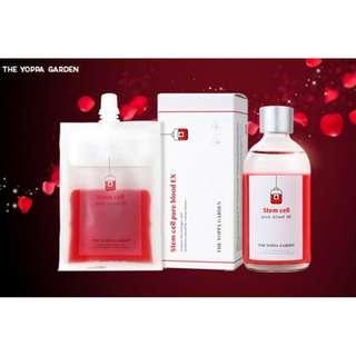 🚚 The Yoppa Garden Stem Cell Pure Blood EX : 100ml+100ml