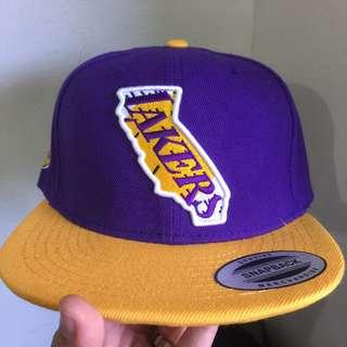 COD Los Angeles Lakers NBA Basketball Snapback Cap