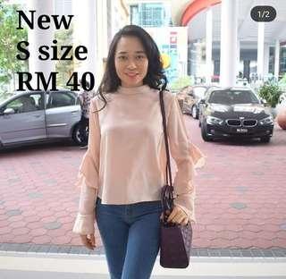 Ruffle blouse #CNY888