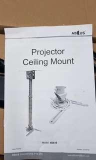 Ceiling Mount bracket for projectors