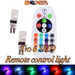 2 x 12led cabin RGB remote control panel