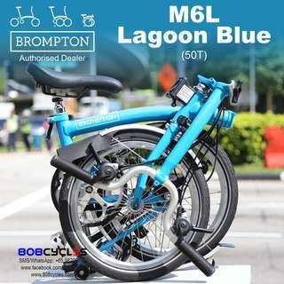 BROMPTON M6L Lagoon Blue