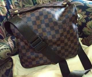 LV Damier Messenger Bag