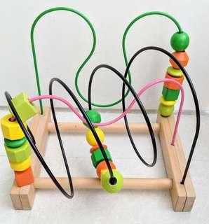 Wooden Mula Beads Toy