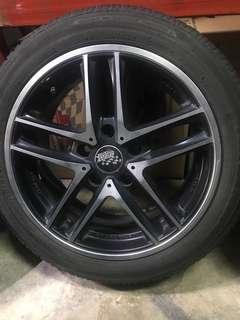 "16"" rims with tyres"