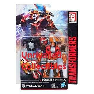 [In hand] Hasbro Transformers Power of the Primes Deluxe Class Wreck-gar