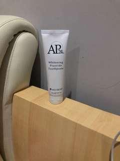Ap24 whitening fluoride toothpaste nu skin
