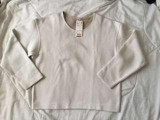 Uniqlo off white pullover