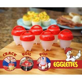 Egg Cooker Hard Boiled Eggs without the Shell NKC28