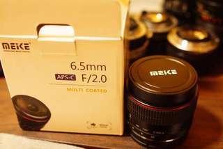 Meike 6.5mm f2 FUJI