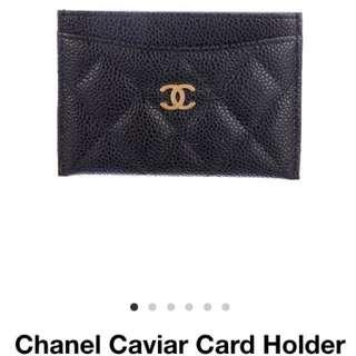 New Chanel Caviar Cardholder Chanel Wallet Chanel Perfume  (made In Italy) Chanel Mademoiselle Gucci cardholder