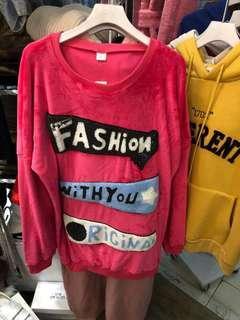 女裝絨料衫